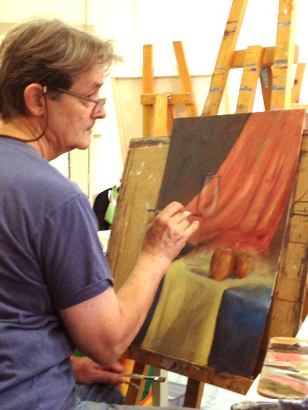 Formation en peinture avec Ljubomir Ivankovic