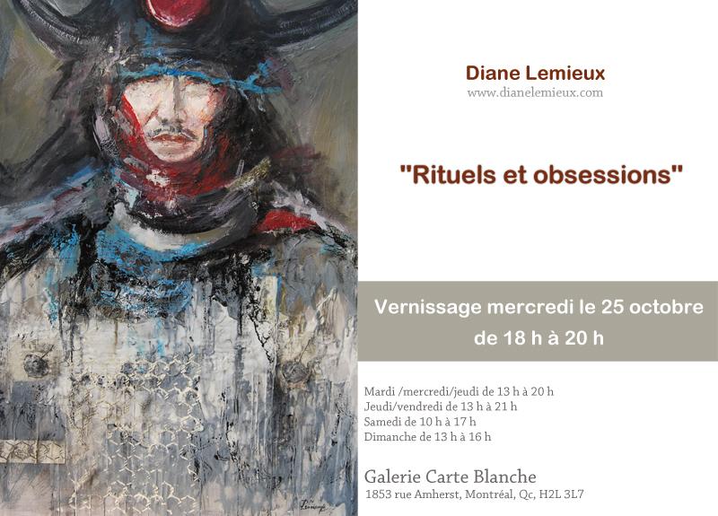 Exposition à la galerie Carte Blanche de Montréal