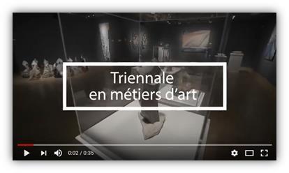 Triennale des métiers d'art 2018 de la ville de Gatineau