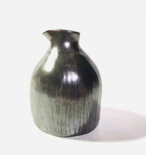vase métallique en céramique fait à la main